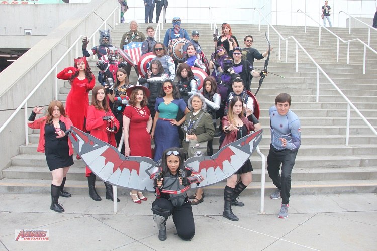 Marvel Cosplay Los Angeles Comic Con