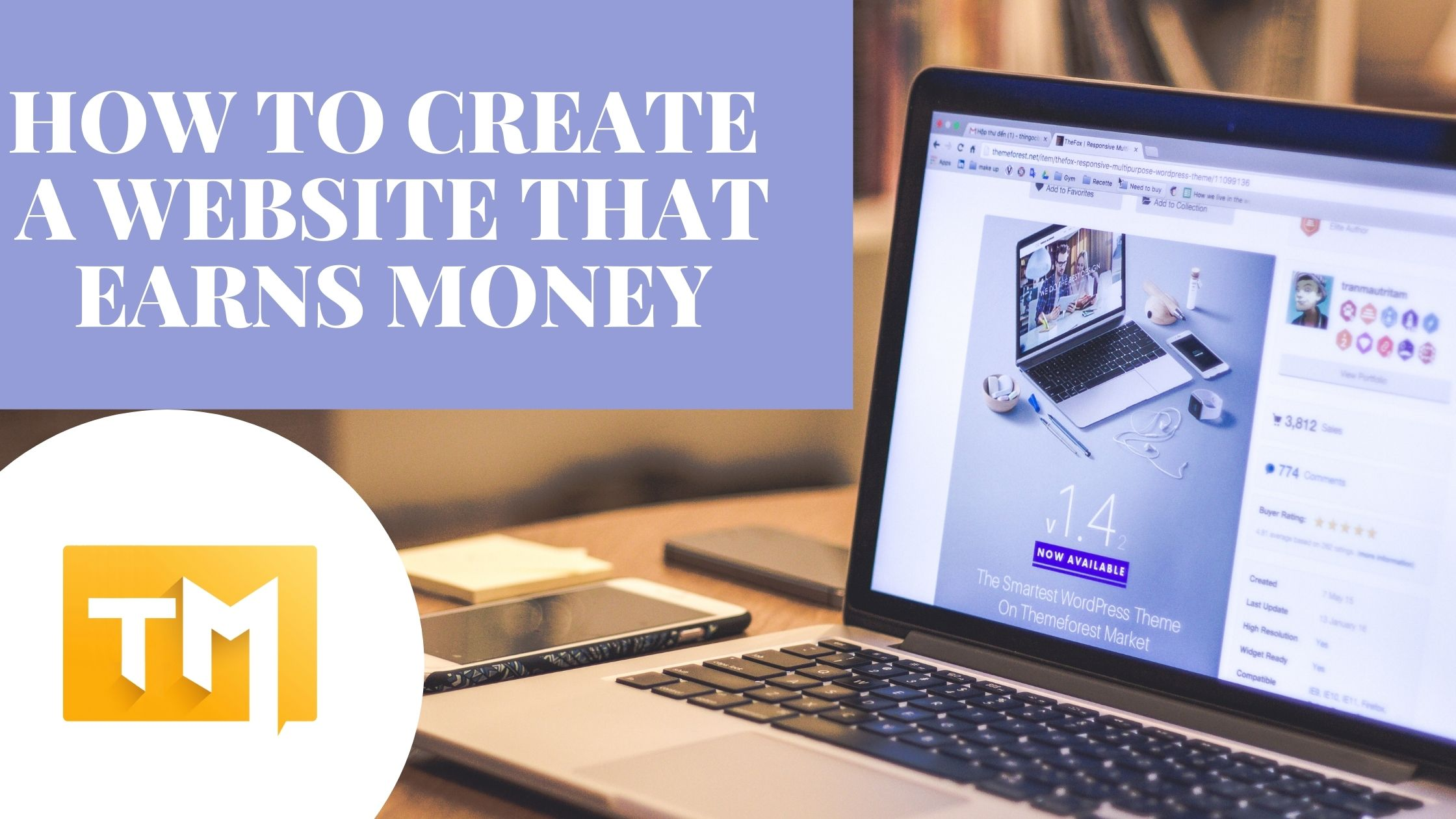 How to create a website that earns money