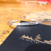 Sterling silver personalised Cuff