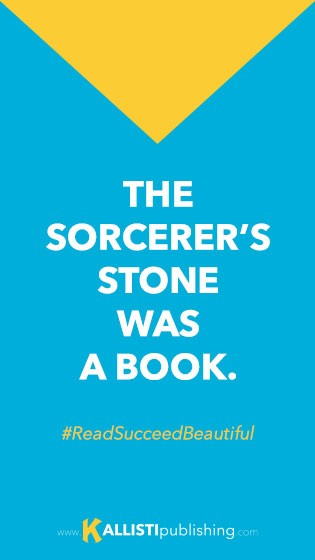 The sorcerer's stone was a book!