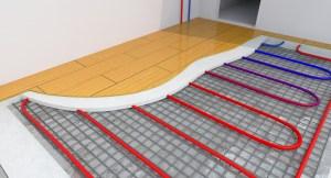 hardwood floors radiant heat