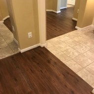 "Maxx Flooring ""Spiced Rum"" installed in Houston, TX"