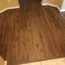 """Maxx Flooring """"Spiced Rum"""" installed in Houston, TX <br /> <small>Photographer: Julie Gates </small><small>Location: Houston, TX </small>"""