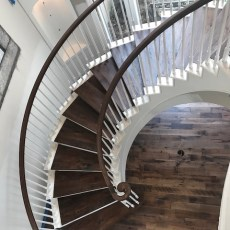 "Storehouse ""Barrel"" installed in a Houston home. <br /> <small>    Location: Houston, TX </small><small>    Business: Adore Wood Floors </small><br />"