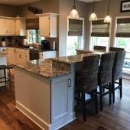 Rear Entry- Dining- Kitchen - Living Room- Remodel
