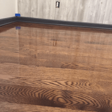 3 1/4 White oak, number one. Sand and Finish <br /> <small>Photographer: Carson Rhoades </small><small>Location: Baldwin City, Kansas </small><small>Business: J-Time Flooring </small><br />