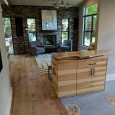 Palladio - Tabacco Barn flooring installed into a custom home in Travis Heights neighborhood in Austin Texas <br /> <small>Photographer: Jenn Hodges </small><small>Location: Austin, Texas </small><small>Business: Stratum Floors </small><br />