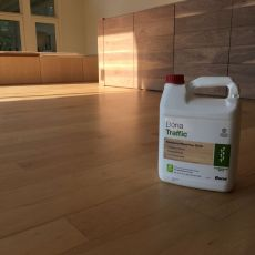 Maple waterbase poly <br /> <small>Photographer: Wilson Assis Jr </small><small>    Location: Lenexa, Kansas </small><small>    Business: Wise Wood Floor </small><br />
