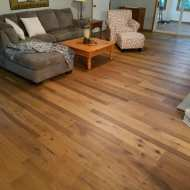 Lovely European White Oak floor from Real Wood Floors.