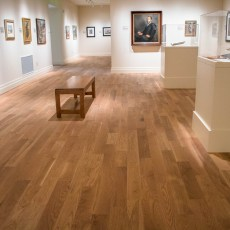 Teckton White Oak Natural installed in Gibbes Museum of Art in Charleston, SC. <br /> <small>Location: Charleston, SC </small><small>Business: Teckton </small><br />