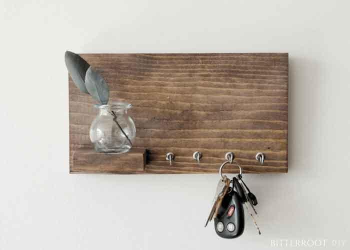 DIY Entryway Key Organizer