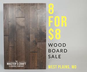 Wood Board Sale West Plains