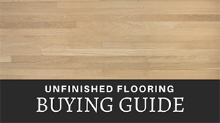 Unfinished Floor Guide