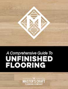 Unfinished Flooring Cover