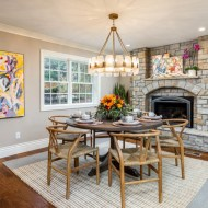 """Durango """"Barley"""" installed by Mike Rangel with Midwest Hardwoods. Belinder House designed by Tamara Day with Growing Days in Leawood, Kansas. Featured on DIY Network's """"Bargain Mansions."""""""