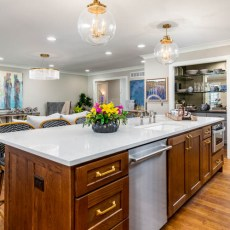 """Durango """"Barley"""" installed by Mike Rangel with Midwest Hardwoods. Belinder House designed by Tamara Day with Growing Days in Leawood, Kansas. Featured on DIY Network's """"Bargain Mansions."""" <br />"""