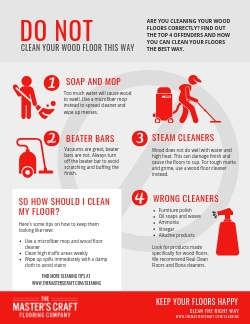 Do Not Clean Your Wood Floor This Way
