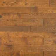 "Durango Collection ¾"" x 2-1/4"" - 3-1/4"" - 4"" Handscraped White Oak"
