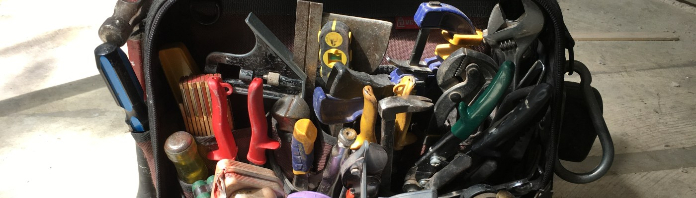 The Master's Hand tools
