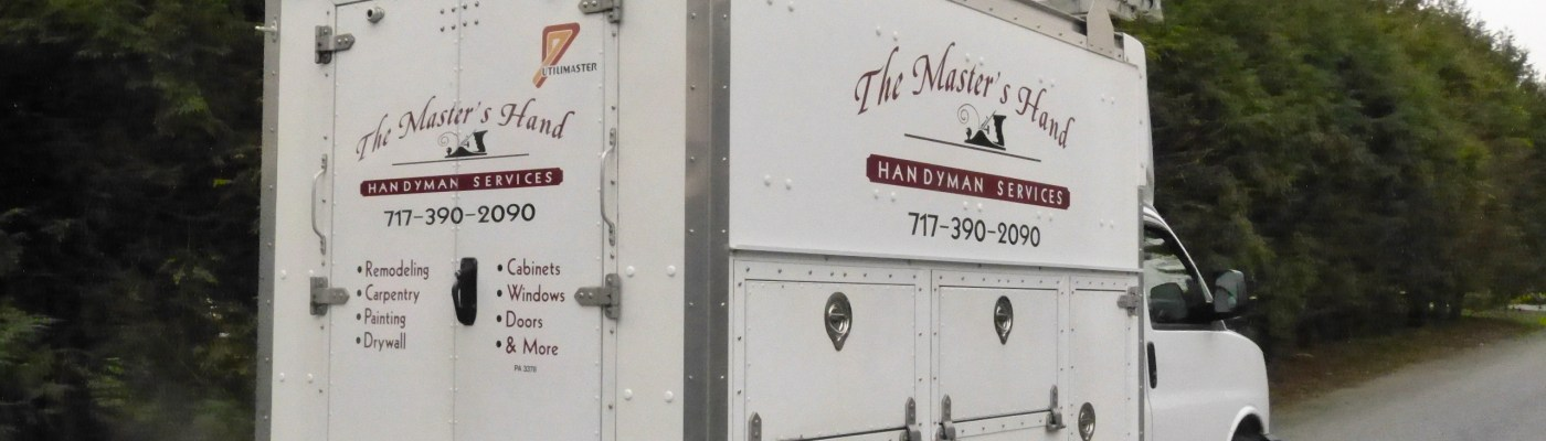 The Master's Hand remodeling van