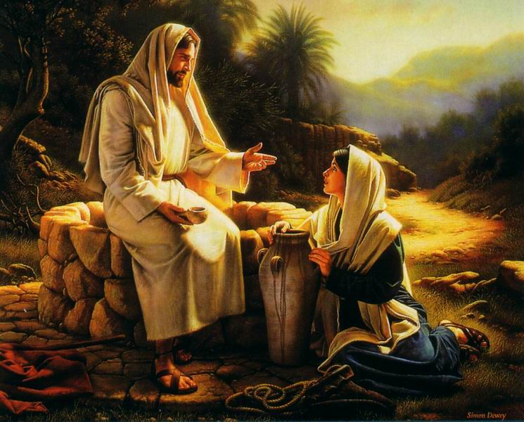 Jesus' Example, the Samaritan woman