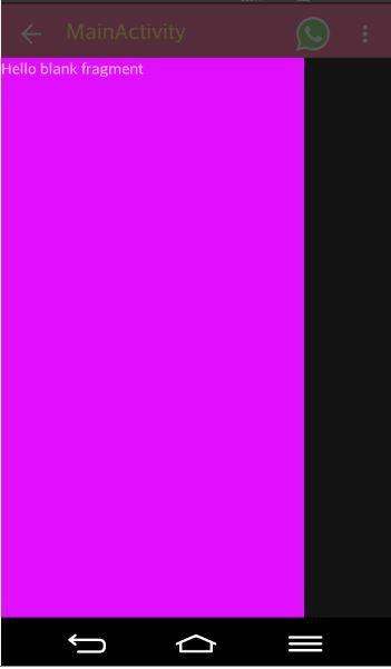 Alt Tag Navigation Drawer in material design change color