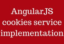 AngularJS cookies service implementation