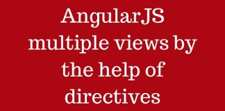 AngularJS multiple views by the help of directives