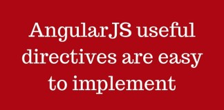 AngularJS useful directives are easy to implement