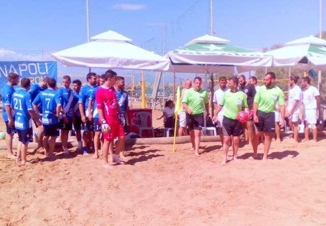 Μέσα Ιουλίου ξεκινάει το πρωτάθλημα Beach Soccer σε 4 ομίλους