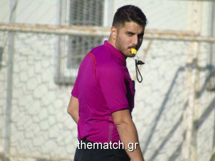Ο Νίκος Χρονάς σφυρίζει τη Μ.Τετάρτη τον Τελικό Κυπέλλου Αχαΐας
