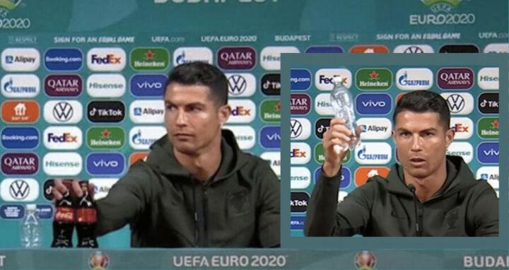 H UEFA απειλεί με πρόστιμα τις ομάδες αν μετακινούν ποτά σε Συνεντεύξεις Tύπου (βίντεο)