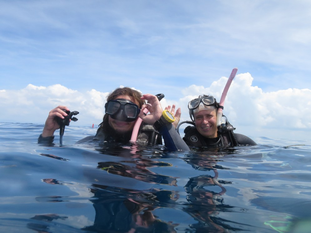 Level up, now as Advanced Open Water divers