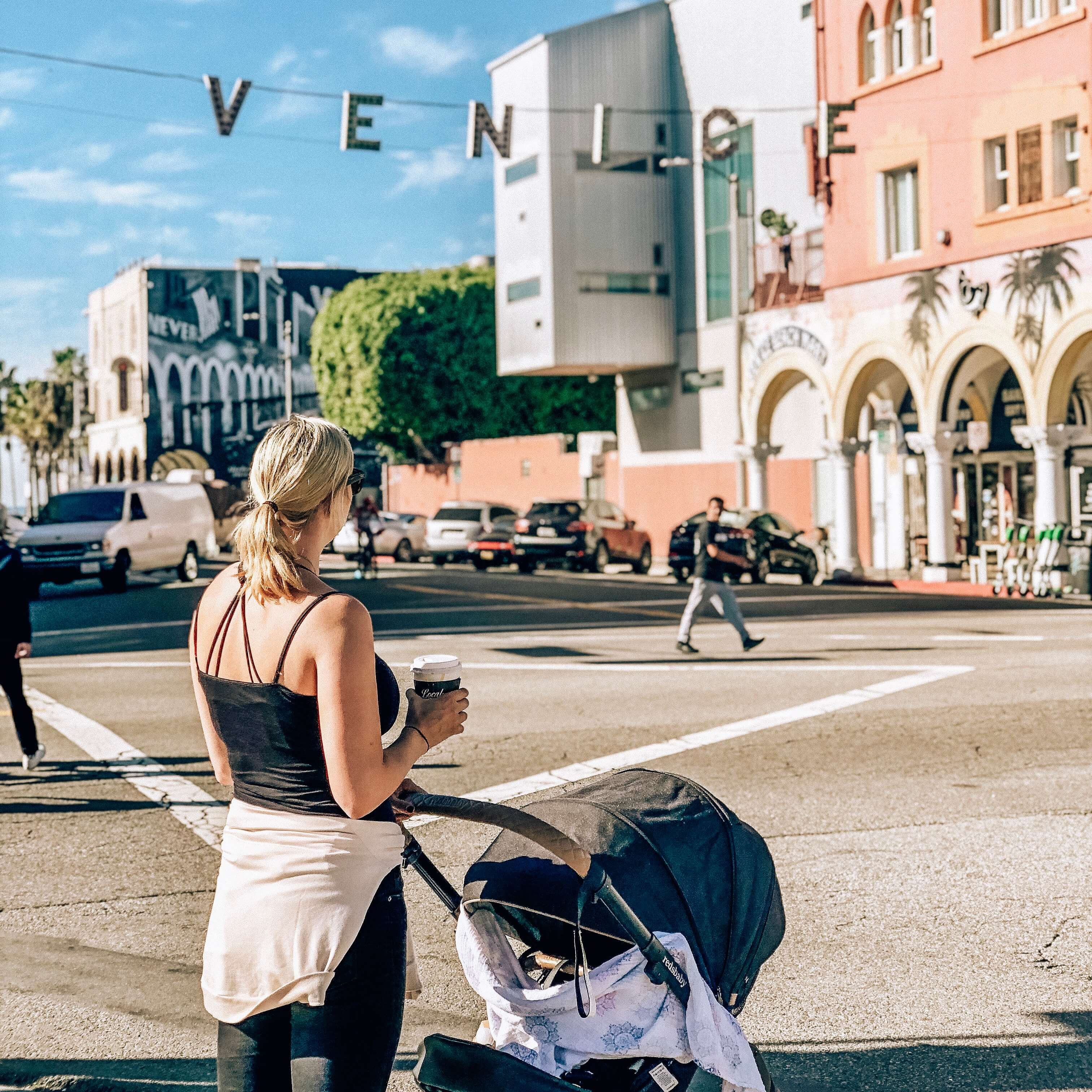 Venice with baby