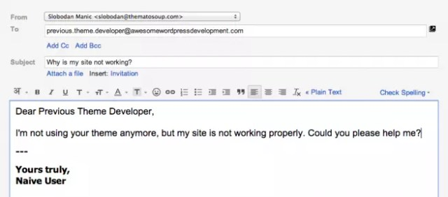 Screwed by a WordPress theme