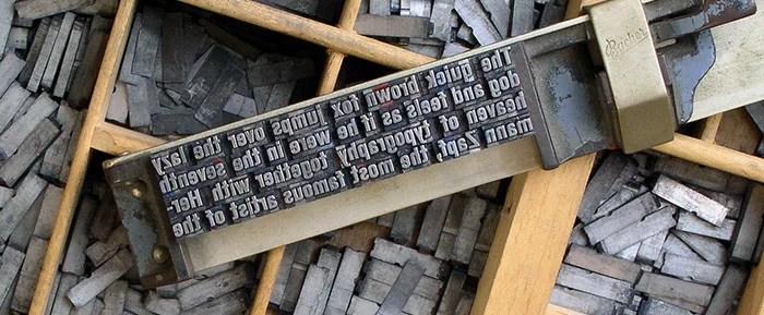WordPress typography