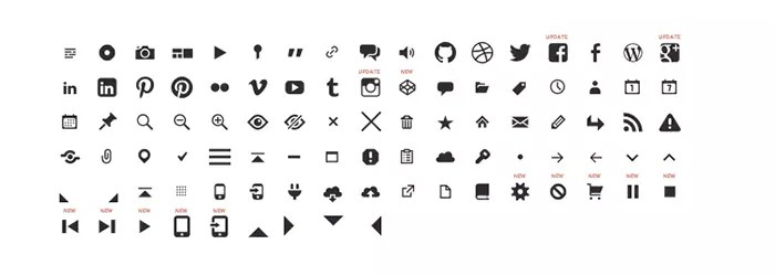 Genericons - icon font used in Twenty Thirteen