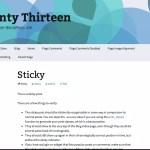 Holi - Turqiuse Twenty Thirteen WordPress Child Theme