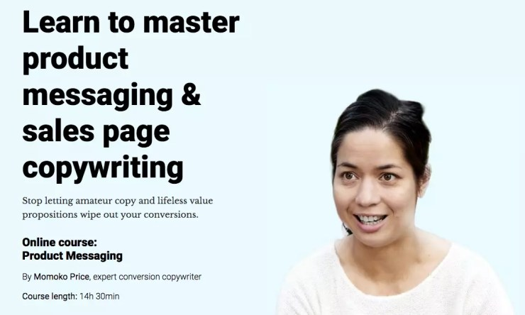 Product Messaging & Copywriting CXL Online Course