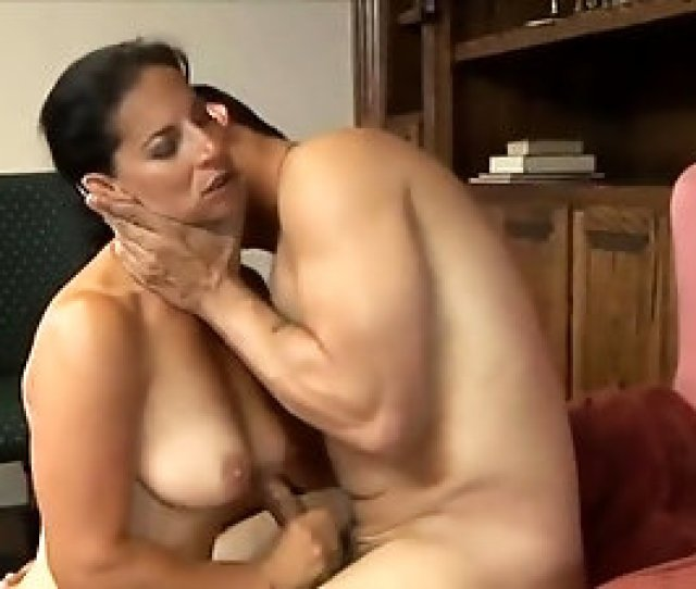 Classy Brunette Milf Enjoys Passionate Sex With The Hung Stud