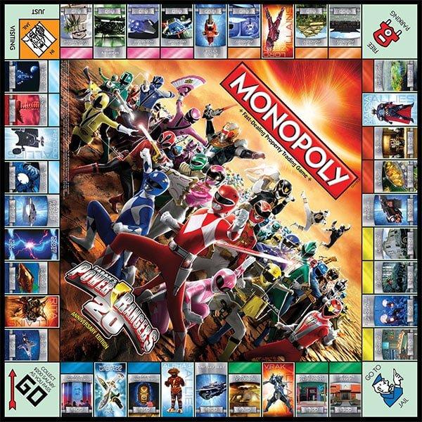 Sponsored Family Game Night Power Rangers Monopoly