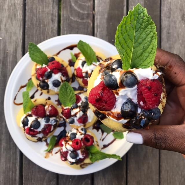 Berry Shortcakes: 10 Minute Dessert