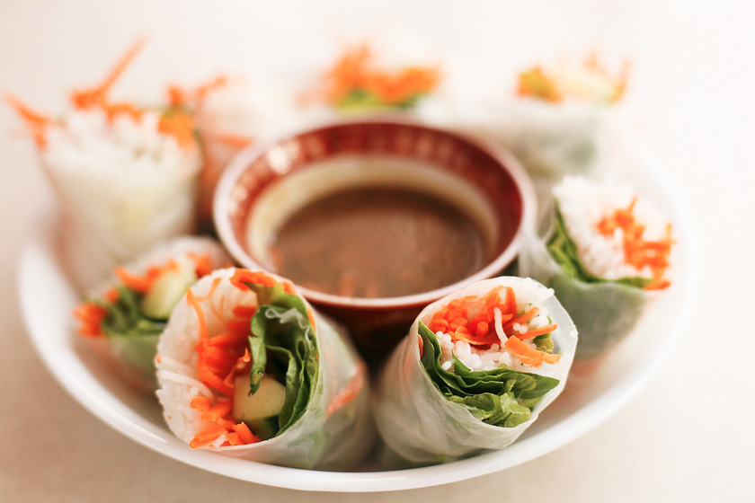 Fresh Vegetarian Spring Roll