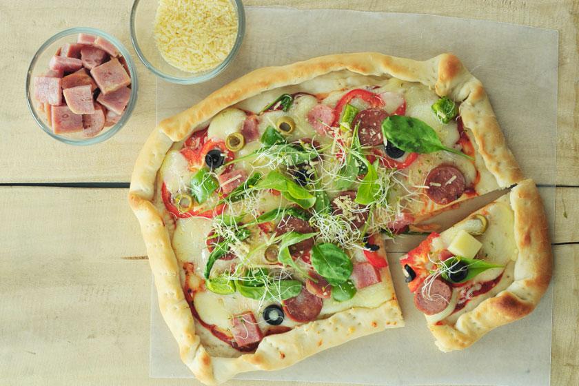 Hearty Pizza