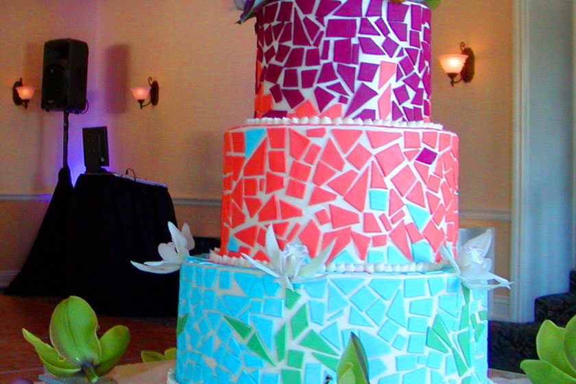 Mosaic Cakes