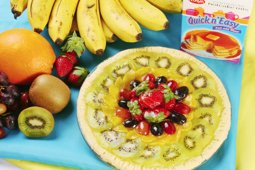 Summer Fruit Pie