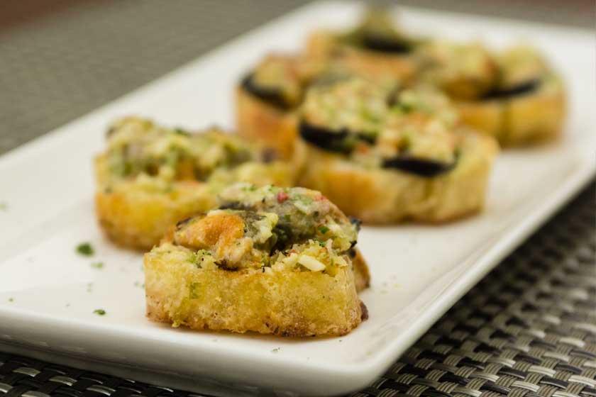 Baked Mussel with Cafe de Paris