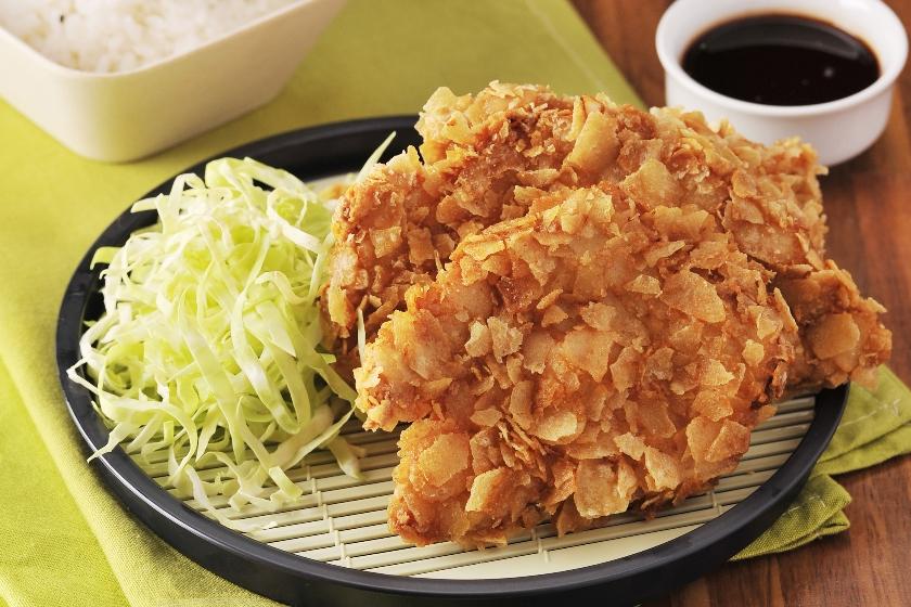 Potato Crusted Chicken Katsu