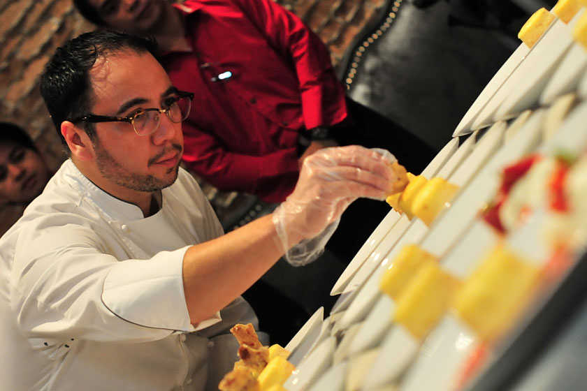 Chef Fern Aracama Recreates Childhood Media Noche