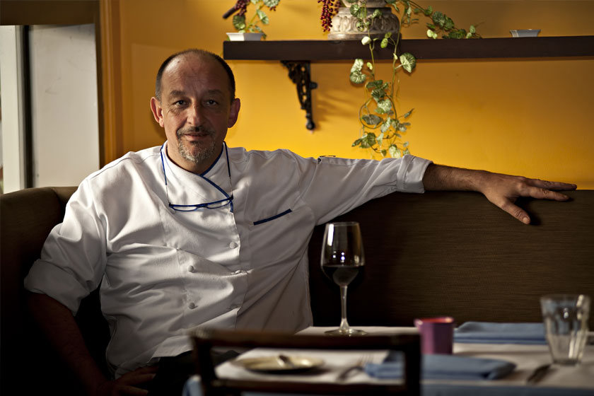 Chef Marc Aubry of Champêtre Restaurant at The Maya Kitchen